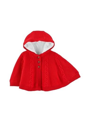 Carters Carter'S Kapşonlu Bebek Hırkası 1J194210 Kırmızı